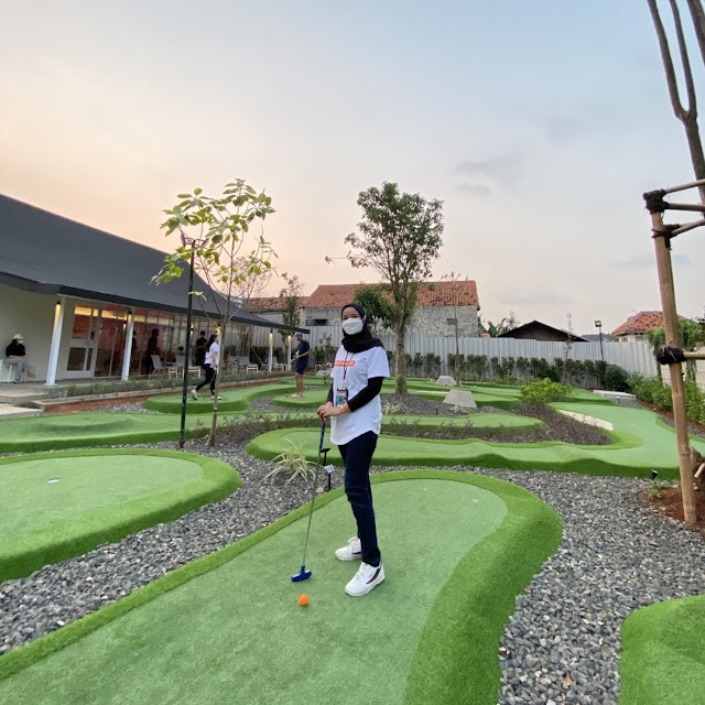 Kolepa Mini Golf & Coffee Shop Tangerang Selatan
