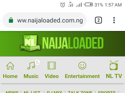 Download Naijaloaded blogger template free
