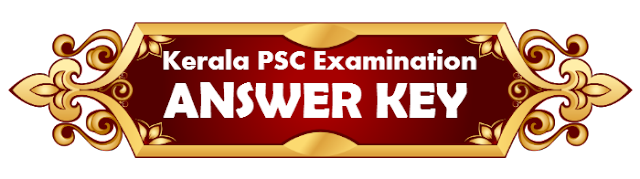 Kerala PSC University Assistant Answer Key 2019