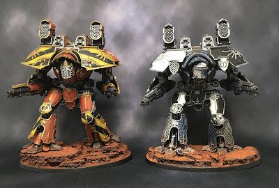 Legio Ignatum and Legio Tempestus Warlord Titans