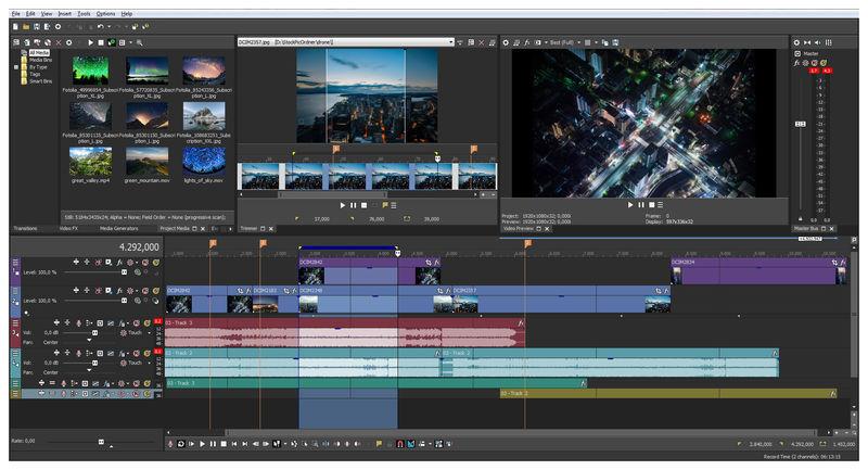 MAGIX Vegas Pro 18.0 Build 334 (x64/ 64-bit) Full Version