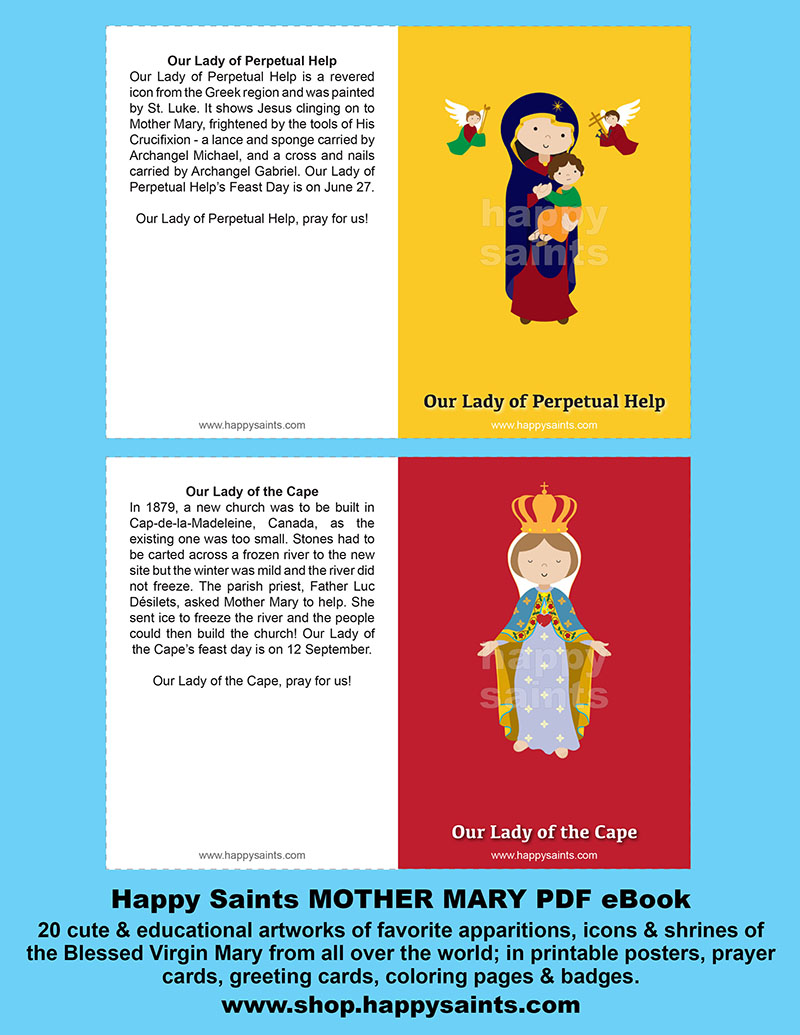 Happy Saints MOTHER MARY PDF EBook