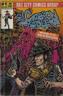 El Cabrón Pistolero - Cover
