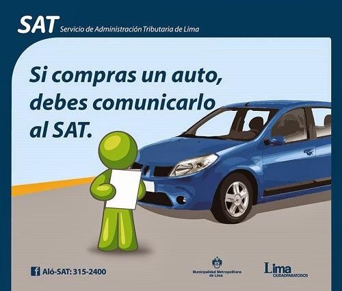 Impuesto vehicular, sat, vehículos