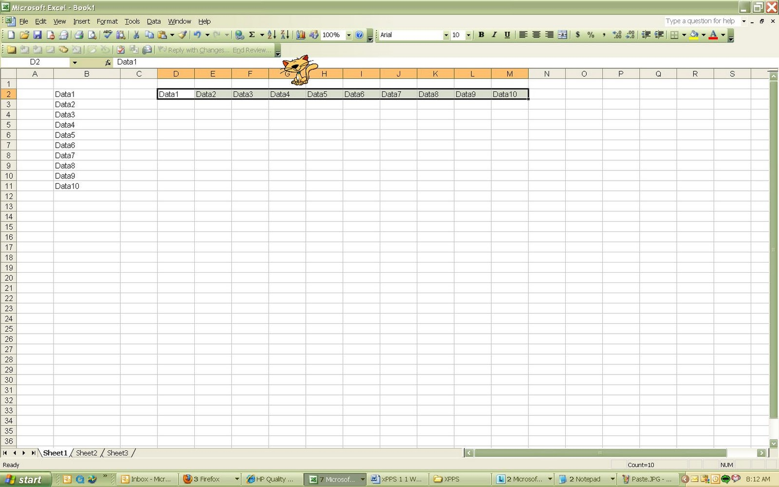Move Data Between Excel Rows And Columns
