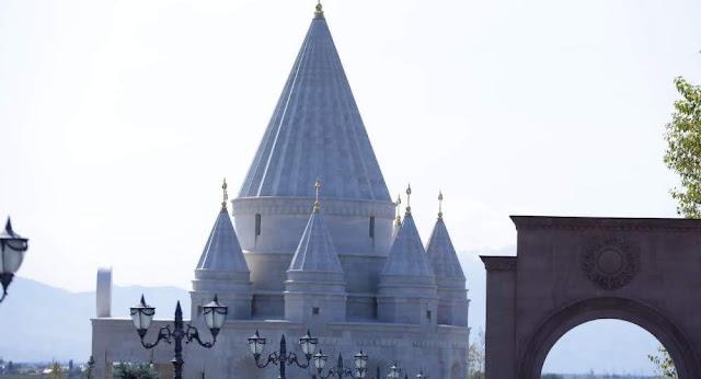 Abren el más grande templo Yezidi en Armenia
