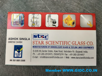 STAR SCIENTIFIC GLASS CO. - 9825034494