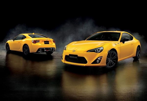 Toyota GT 86 Yellow Edition