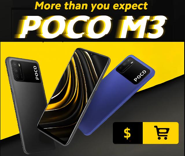 Xiaomi Poco M3 specification