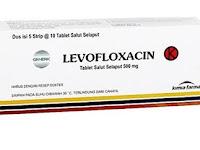 Levofloxacin - Kegunaan, Dosis, Efek Samping