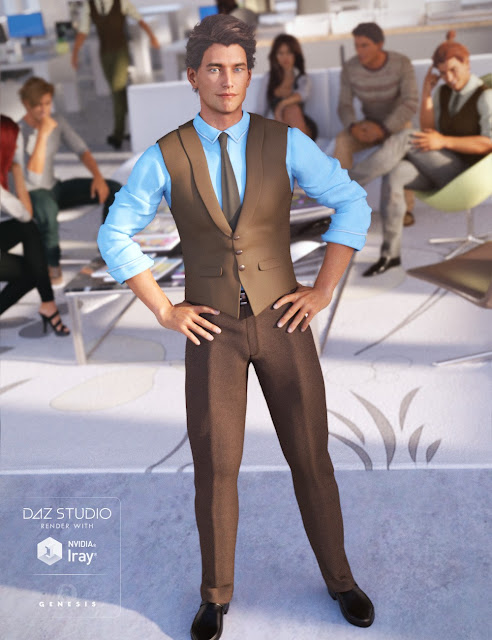 Casual Style for Genesis 3 Male