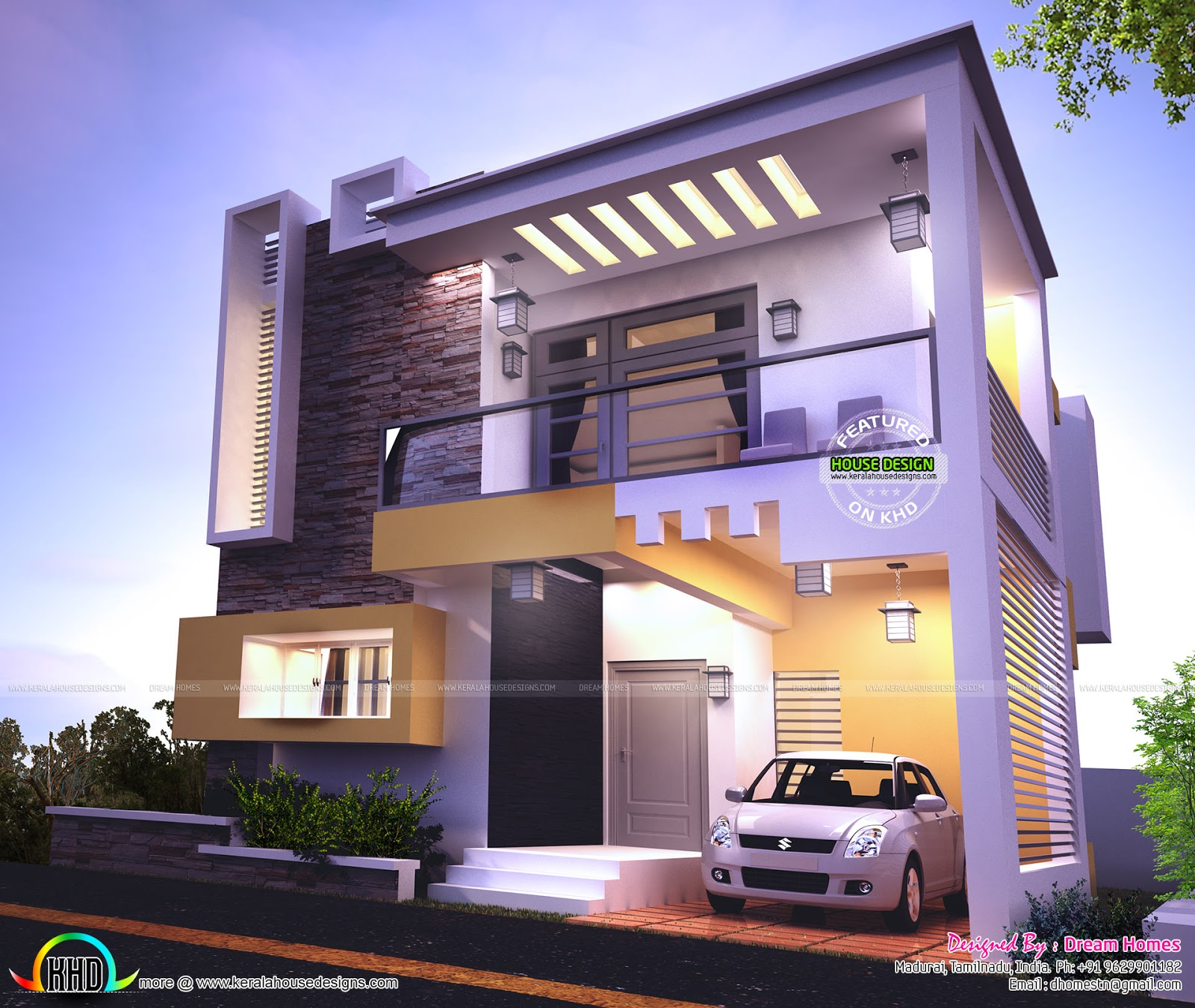 Contemporary Home Design: Kerala Home Design And Floor