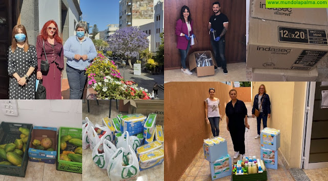 El Ayuntamiento de Los Llanos de Aridane agradece a empresas, entidades y a la ciudadanía sus donaciones ante la crisis del COVID-19