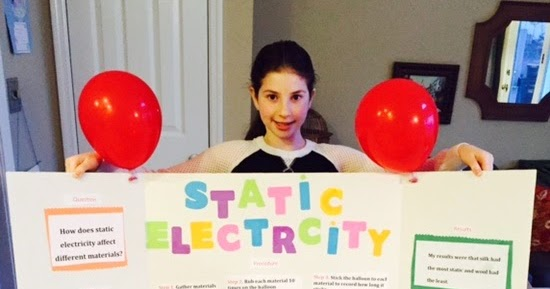 The Static Electricity Experiment |Static Electricity Science Project For Abstract