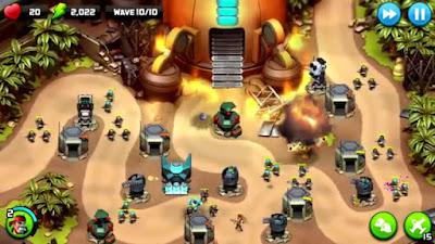 لعبة الحروب الإستراتيجية Alien Creeps TD إصدار عادي و مهكر للاندرويد