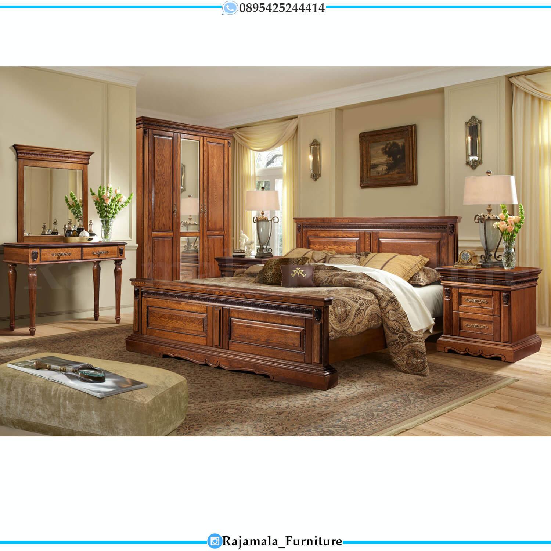 Jual Dipan Jati Minimalis Natural Classic Design Furniture Jepara RM-0442