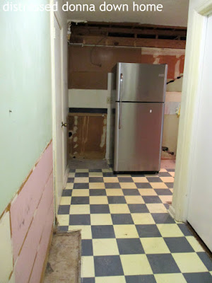 kitchen renovation, demolition, construction