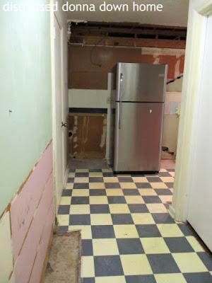 kitchen renovation, demolition, construction