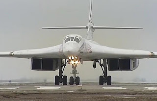 Pembom Strategis Tu-160M2 Rusia