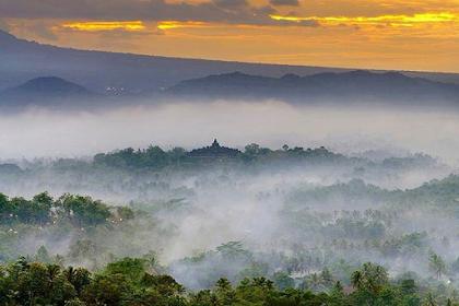Rute dan Harga Tiket Masuk Punthuk Setumbu Borobudur Magelang