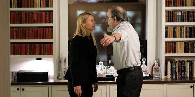 """Carrie y Saul. """"Prisioneros de guerra"""", temporada 8"""