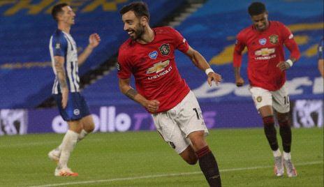 Brighton & Hove Albion vs Manchester United 0-3 Highlights
