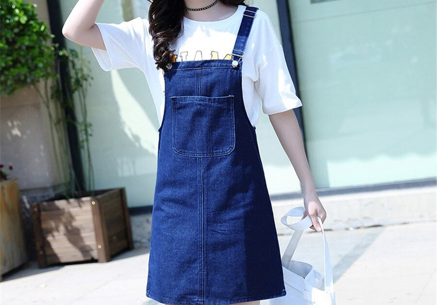 Latest And unique designs for dungaree skirts for women