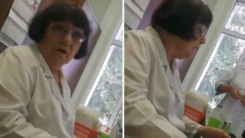 В Новокузнецке бабка-доктор с матами выпроводила пациентку из кабинета и отказалась ее лечить.