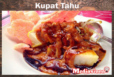 Kupat Tahu Khas Sunda