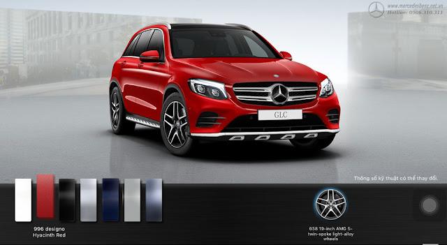 Mercedes GLC 300 4MATIC 2017 sở hữu thiết kế hướng đến những khách hàng yêu thích sự trẻ trung, năng động