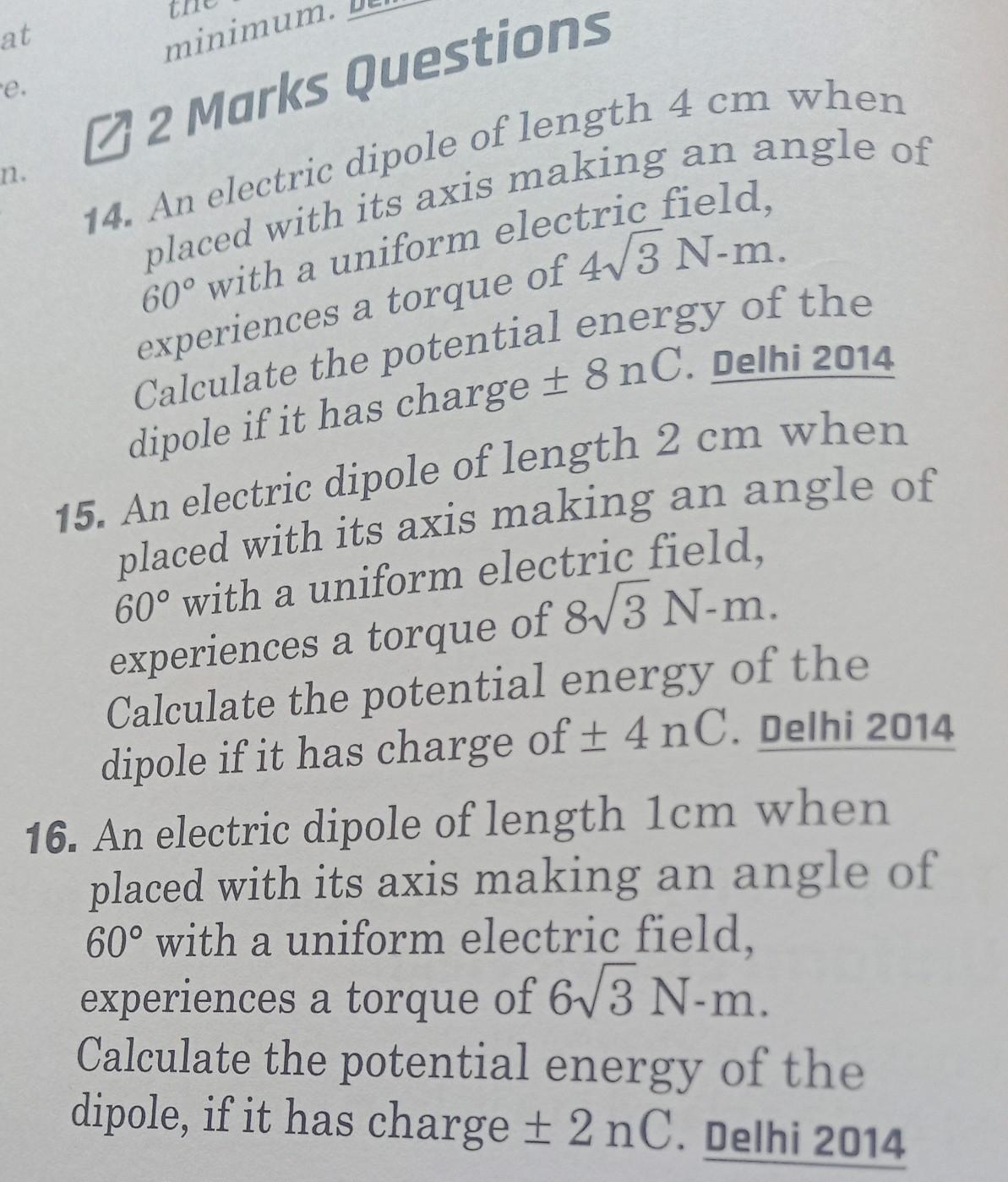 Physics Wallah Nootan Sir: Class XII Cbse physics chapter 1
