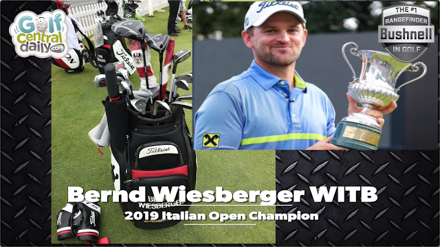 What's In The Bag Bernd Wiesberger