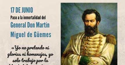 Mi Sala Amarilla: Martín Miguel de Güemes. Recursos para