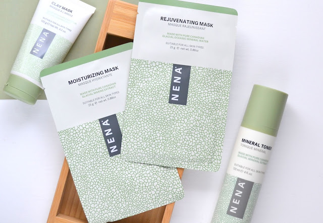 NENA Skincare Rejuvenating and Moisturizing Masks
