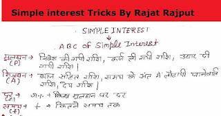 Simple Interest Formula PDF