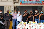 Aksi Peduli Ketua Pewarta di Tengah 'Banjir' Air Mata