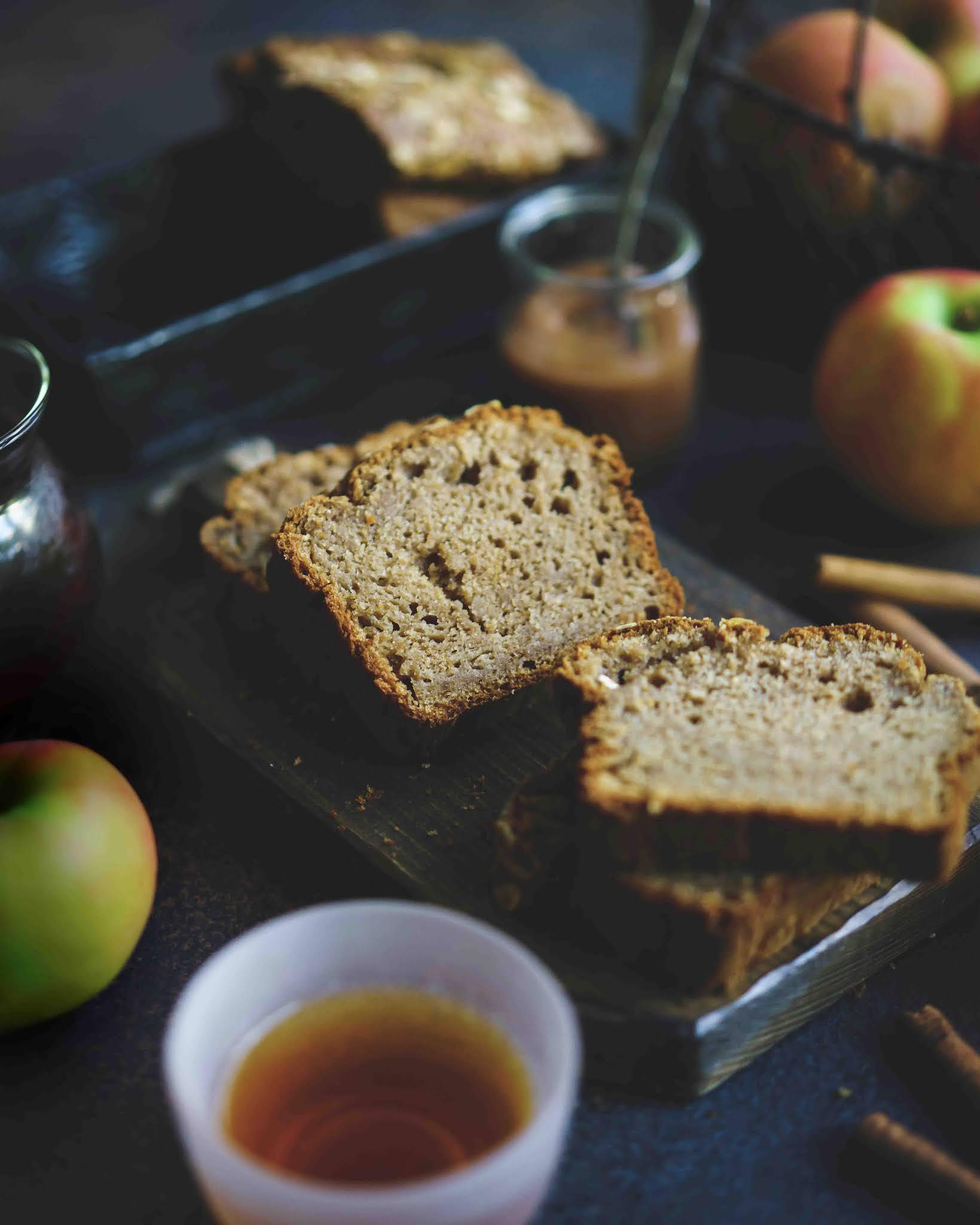 cake d'automne aux pommes