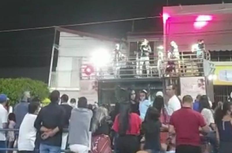 DOUTOR SEVERIANO REGISTRA O SEU 1º EVENTO EM PRAÇA PÚBLICA DURANTE A PANDEMIA