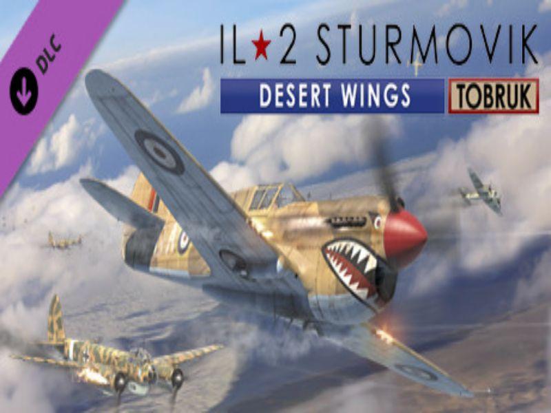 Download IL-2 Sturmovik Desert Wings Tobruk Game PC Free