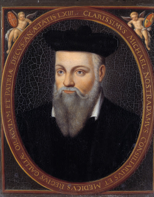 The predictions of Nostradamus for 2017 www.researchingaliensandufos.com