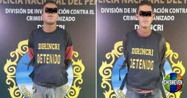 Dos venezolanos detenidos atracando una estación de servicio en Perú