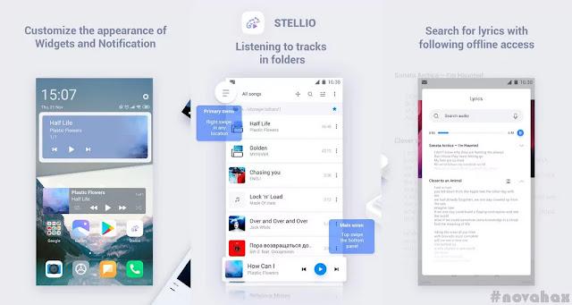 stellio music player pro mod apk