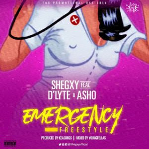 Shegxy ft. D'lyte x Asho - Emergency (Freestyle)