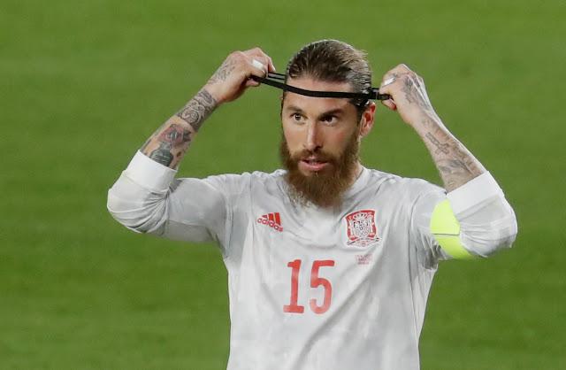 Real Madrid and Spain defender Sergio Ramos