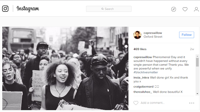 Crystal King UK Interviews Capres Willow Turner... The little lady who shut down Oxford Street with a #BlackLivesMatter Protest