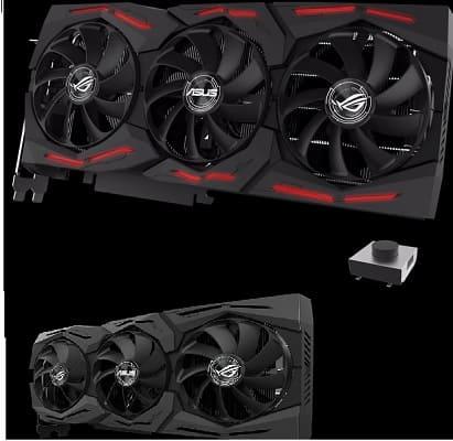 Asus ROG Strix GeForce GTX 1660 Ti OCكرت