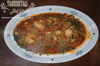 أرز الروبيان وصفة سهلة للعشاء