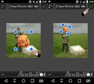 Cara edit foto kepala kartun menggunakan android
