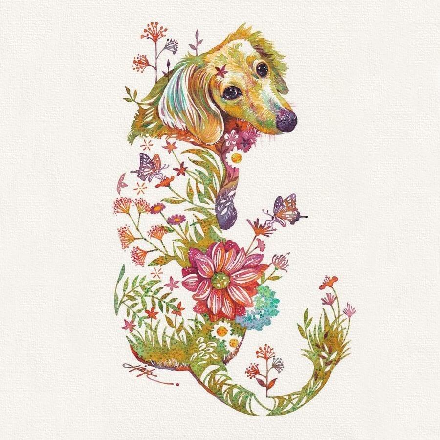 10-Dog-with-a-red-carpet-pose-Hiroki-Takeda-タケダヒロキ-www-designstack-co