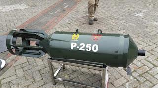 Bom P-250 Buatan Dislitbang TNI AU